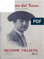 ASES DEL TOREO - NICANOR VILLALTA