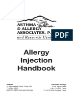 5 19 11 Allergy Injection Handbook