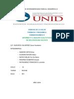 Analisis Cualitativo de Gentamicina Sulfato