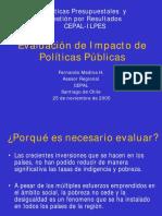 Evaluacion impacto