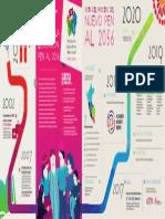 Infografía de construcción del nuevo Proyecto Educativo Nacional al 2036