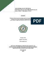 Download Skripsi Pengembangan Produk dalam Meningkatkan Volume Penjualan pada Toko Grobak Toys by Elmo SN39405615 doc pdf