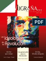 """REVISTA MIGRAÑA - HOMENAJE Y ESPECIAL ACERCA DE ERNESTO """"CHE"""" GUEVARA."""