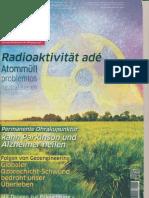 Radioaktivität ade