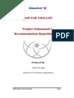 Prophet Muhammads Recommendations Regarding Food.pdf