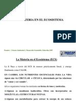 Clase 4- La Materia en Ecosistemas