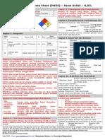 MSDS - Asam Sulfat (H2SO4).pdf
