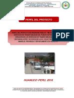Perfil Pavletich 2016 - 2