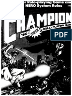 Champions - Core RuleBook (Dist, Greyscale)