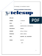 Monografia JAVASCRIPT