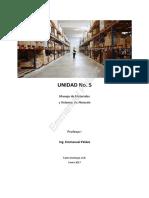 5-Material Didactico 5 - Manejo de Materiales y Almacen 2018-1