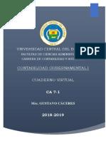 Contabilidad Gubernamental i Cuaderno Virtual