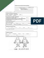 Formato de Evacuación Del Paciente Quemado e Instructivo Para El Manejo Inicial
