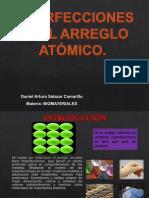 imperfeccion arreglo atomico