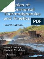 Principles of Environmental Thermodynamics and Kinetics (2018)