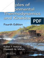 Principles of Environmental Thermodynamics and Kinetics (2018)