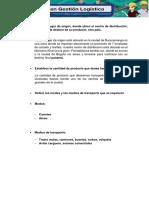 Evidencia 6 Presentacion Logistica Para La Distribucion de Un Producto