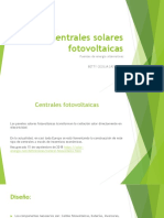 Centrales Solares Fotovoltaicas
