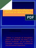 Anemias Por Deficiencia Do Heme 2015 (Atual)