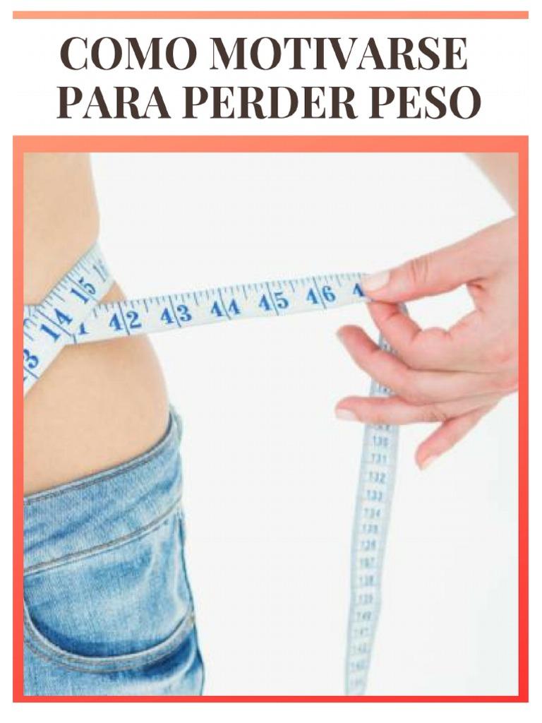 motivarme para bajar de peso