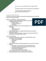 Análisis y Compresión de La Norma IRAM ISO IEC 90003