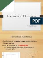 Hierchial Clustering