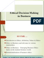 L5 Ethical Decision Making