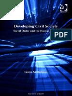 Senyo B-S. K. Adjibolosoo - Developing Civil Society_ Social Order and the Human Factor (2006, Ashgate Publishing) (1)