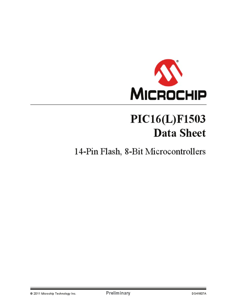 datasheet 16f1503 | Analog To Digital Converter | Cmos