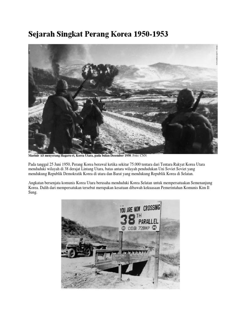 Sejarah Singkat Perang Korea 1950