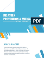 Disaster Prevention and Mitigation