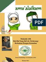 PPT AIK (Siti Istiqomah)