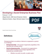Harvard B-Plan Structure