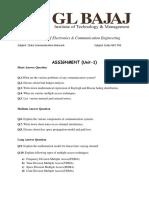 data communication assignment
