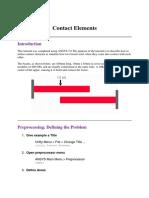 Advanced Contact Elements