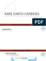 Rare Earth Carbides