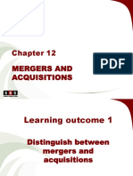 Mergers and Acq
