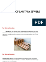 Lecture 10. Sanitary Sewer Design