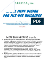 01basic Mepf Design for a Mix Use Bldg