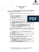 Solución de La Primera Evaluación de Algebra Lineal-1P IIT-2018