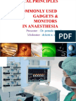 Physics in Monitoring