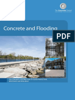 CONCRETE & FLOODING