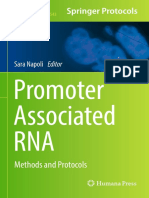 Promoter Associated RNA Methods and Protocols Methods in Molecular Biology