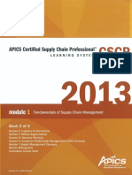 CSCP 2 Certified Supply Chain Professional
