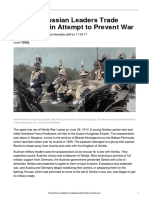 Facing History Last Ditch Ww1 25103 Article Quiz and Answers