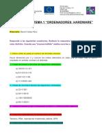 EjerciciosTEMA 1 2018 (HARDWARE)