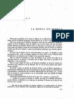 La Moral en Séneca, Jose Todoli