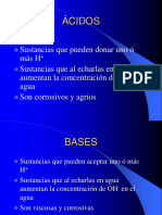 Acidos Bases y Ph