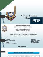 Resumen Proyecto Educativo Canaima-Efrain Rodriguez