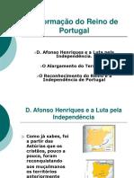 Resumo de Historia (Formaçao Do Reino de Portugal)